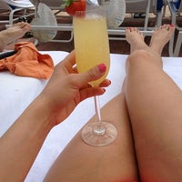 Photo taken at Loews Miami Beach Pool by Jill . on 3/25/2013