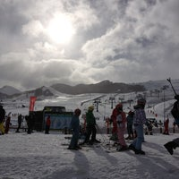 Photo taken at Sextas - Formigal by Belen A. on 1/28/2013