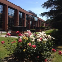 Photo taken at Universidad Carlos III de Madrid - Campus de Getafe by Belen A. on 6/11/2013