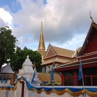 Photo taken at Wat Bowon Niwet by Natthaphong P. on 5/3/2013