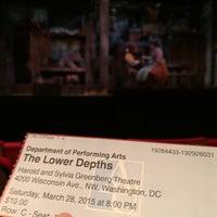 3/28/2015 tarihinde Ian B.ziyaretçi tarafından Greenberg Theatre'de çekilen fotoğraf