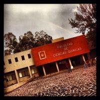 Photo taken at Facultad De Ciencias Quimicas by Héctor R. on 2/14/2014