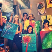 Photo taken at Sipping N' Painting by Brittney C. on 8/8/2013