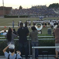 Photo taken at South Forsyth High School Football Stadium by Cindy C. on 8/22/2015