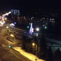 Photo taken at Проспект Коста by Анастасия З. on 1/1/2014