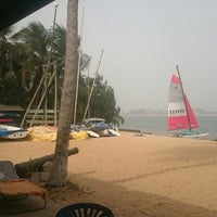Photo taken at Ghana sailing club by Petr M. on 1/11/2015
