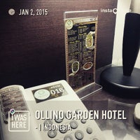 Photo taken at Ollino Garden Hotel by Yonatan L. on 1/2/2015