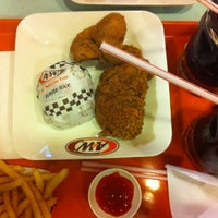 Photo taken at A&W by Ozie O. on 5/11/2013
