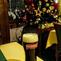 Photo taken at Restaurant hotelu Růže by Lizaveta on 1/8/2017