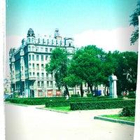Снимок сделан в Площадь Тургенева пользователем Lizaveta 7/12/2013