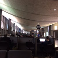 Photo taken at Gate B19 by Michal W. on 1/7/2014