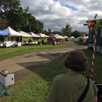 Photo taken at Hanalei Saturday Farmers Market by Michal W. on 2/8/2014