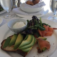Photo taken at The Hilltop Dining Room at The Carneros Inn by Jack P. on 7/30/2016