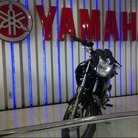 Photo taken at YAMAHA FLAG SHIP JAKARTA  (Cempaka Putih) by Eka P. on 12/6/2014