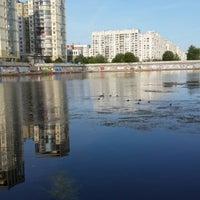 Photo taken at остановка Новосмоленская набережная by Сергей Ж. on 7/13/2013