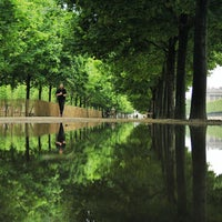 Photo taken at Tuileries Garden by Mickael V. on 5/23/2013