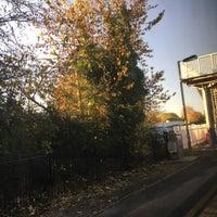 Photo taken at Pewsey Railway Station (PEW) by Richard M. on 11/2/2016