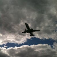 Photo taken at Aircraft Viewing Area 3 (Melbourne Airport) by Rick S. on 10/7/2012