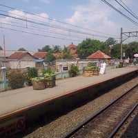 Photo taken at Stasiun Cilebut by Herlambang S. on 5/4/2013