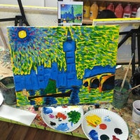 Photo taken at Painting Lounge by Dexter W. on 4/1/2014
