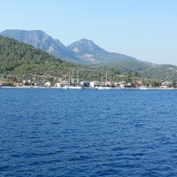 Photo taken at Mazı Koyu (Bodrum) by Anıl Can K. on 7/8/2013