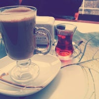 Photo taken at Adin Cafe & Patisserie by Miray S. on 1/28/2014