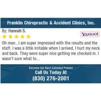 Photo taken at Franklin Chiropractic & Accident Clinics,Inc by James F. on 4/20/2018