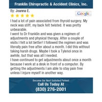 Photo taken at Franklin Chiropractic & Accident Clinics,Inc by James F. on 3/27/2018