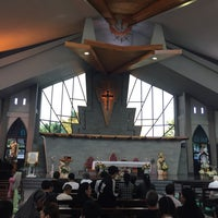 Photo taken at St.Theresa Church by Min K. on 10/15/2017