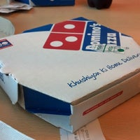 Photo taken at Dominos Pizza by Michael on 10/18/2012