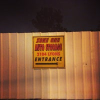 Photo Taken At Zone One Auto Storage By Danny G On 3 31