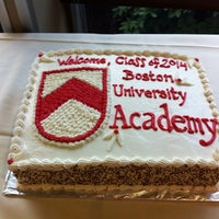 Photo taken at Boston University Academy (BU Academy) by Laurel D. on 9/12/2013