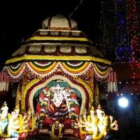 Photo taken at Gangamma temple by Prajwal K. on 10/18/2014