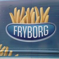 Photo taken at Fryborg by Jason R. on 2/2/2013