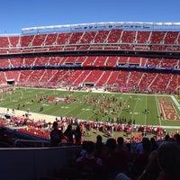 10/5/2014 tarihinde Kevin G.ziyaretçi tarafından Levi's Stadium'de çekilen fotoğraf