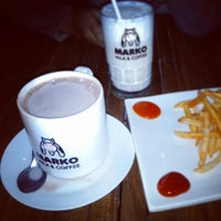 Photo taken at Marko Milk and Coffee by l14n_ndutz on 7/26/2013