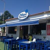 Photo taken at Mavi Restaurant by Yasemin on 8/31/2013