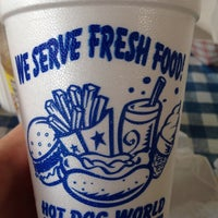 Photo taken at Hot Dog World by Towner B. on 8/8/2015