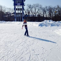 Photo taken at Стадион «Динамо» by Natalya on 2/22/2014