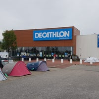 Photo taken at Decathlon Szombathely by Mihaly T. on 7/14/2017
