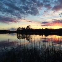 Photo taken at Våtsjön by Nick T. on 5/4/2014