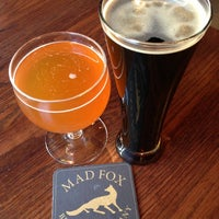 Photo taken at Mad Fox Brewing Company by Jim R. on 2/9/2013