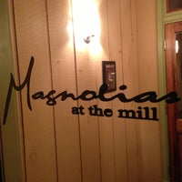Photo taken at Magnolias at the Mill by Jim R. on 11/25/2012