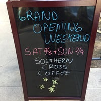 Photo taken at Southern Cross Coffee by Ben M. on 2/18/2017