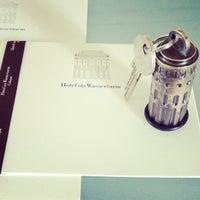 Das Foto wurde bei Hotel im Wasserturm von Bettina M. am 9/30/2012 aufgenommen