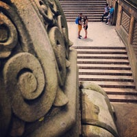 Photo taken at Bethesda Terrace by Kerry C. on 8/11/2013