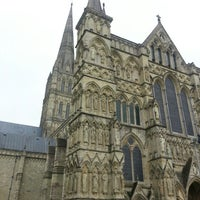 Photo taken at Salisbury Cathedral by Ian H. on 5/20/2013