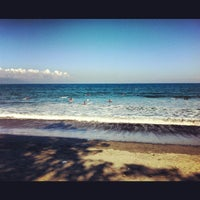 Photo taken at Baler Beach by Angeli T. on 11/24/2012