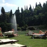 Photo taken at Parco Termale Villa dei Cedri by L' angolo della bellezza on 7/15/2013