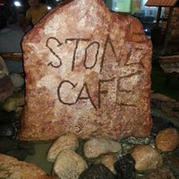 Photo taken at Stone Cafe by Ayman E. on 8/7/2013